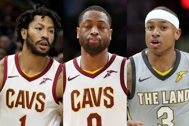 Midseason roster overhaul as Cavs trade Isaiah Thomas, Dwyane Wade and Derrick Rose
