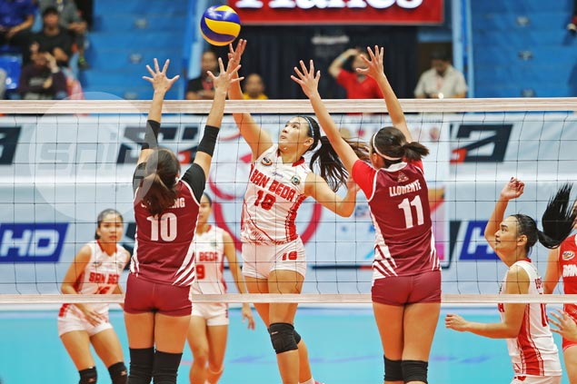 San Beda eliminates Perpetual to book first-ever NCAA women's volleyball finals appearance