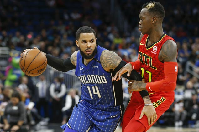 Augustin, Simmons steady from the stripe as Magic edge Hawks