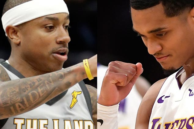 Jordan Clarkson moving from Lakers to Cavaliers as Isaiah Thomas stint with East champs ends