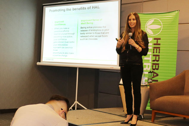 Herbalife expert Dana Ryan dispels myth sports nutrition only for elite, shares tips to PH athletes