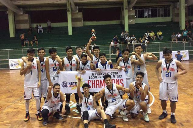 Bacolod Tay Tung High School beats West Negros STI to reachNBTC Negros Island regionals