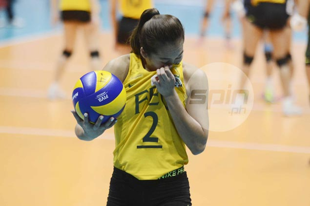 Bernadeth Pons hoping Lady Tamaraws can get back on track quick after tough loss