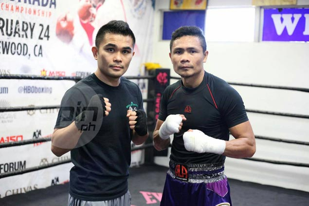 Donnie Nietes, Brian Viloria serve as sparring partners in preparing for world title bids