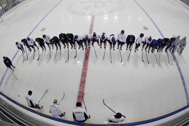 Combined Korean hockey team all set for Olympic debut