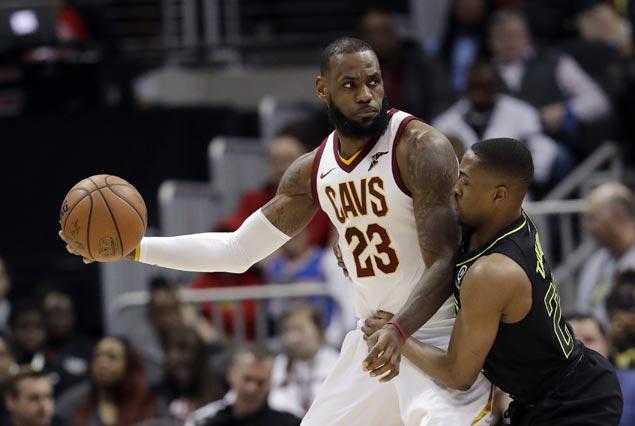 Jordan Clarkson yet to suit up, LeBron James posts triple-double as Cavs rout Hawks