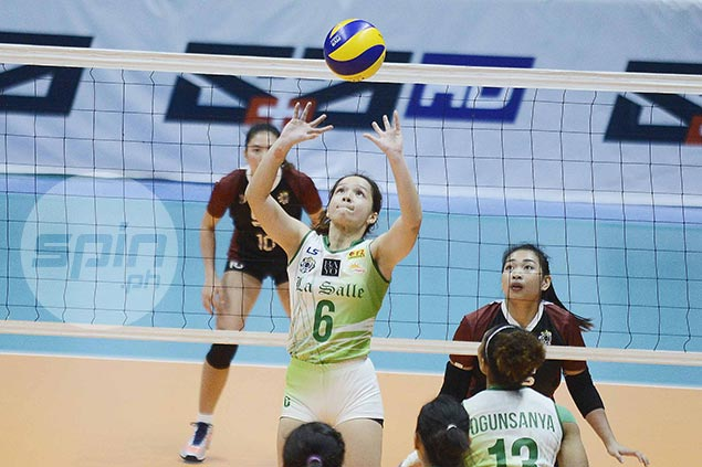 Michelle Cobb continues to impress but new La Salle setter plays down heroics in win vs UP