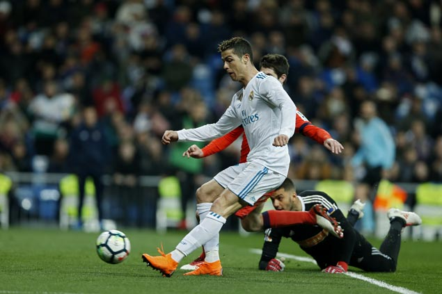 Madrid gets boost ahead of crucial match with PSG as Ronaldo nets hat-trick in rout of Sociedad