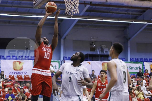 San Beda reaches semifinals unbeaten as La Salle bows out winless