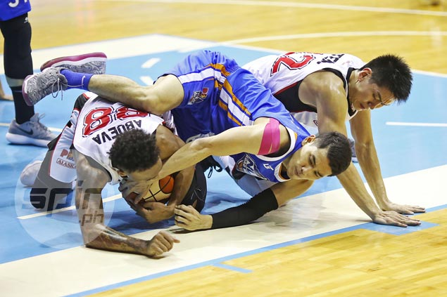 Sigh of relief for NLEX as Alaska fightback from 30 points down falls just short