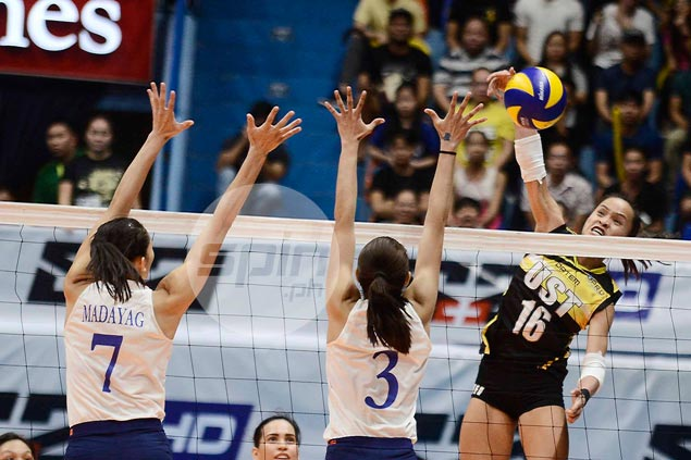 Sisi Rondina leaps to defense of UST teammates, insists she's not lacking in support