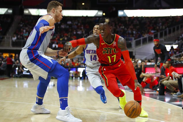 Hawks end two-game slide and send Pistons to second straight loss