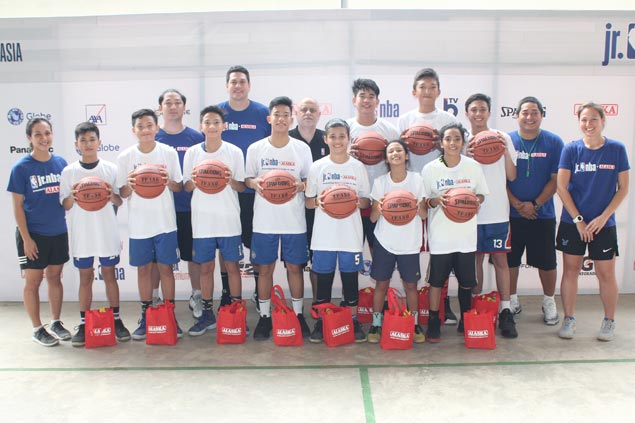 Seven boys, three girls from Visayas advance to Jr. NBA Philippines National Training Camp