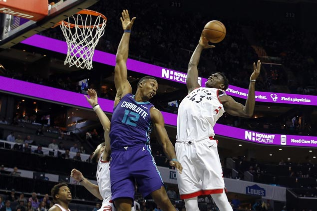 CJ Miles leads charge of Raptors reserves in big win over Hornets
