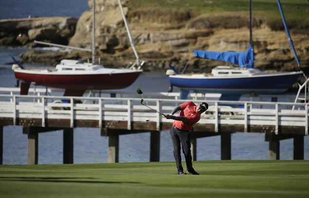 Ted Potter edges Dustin Johnson to top Pebble Beach for first PGA Tour win in six years