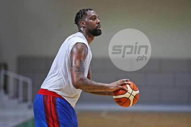 Andray Blatche rejoins Gilas looking fit and trim, but Reyes tempers expectations