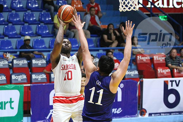 Tankoua, Mocon power Bolick-less San Beda past Ateneo to book PCCL rematch vs Lyceum