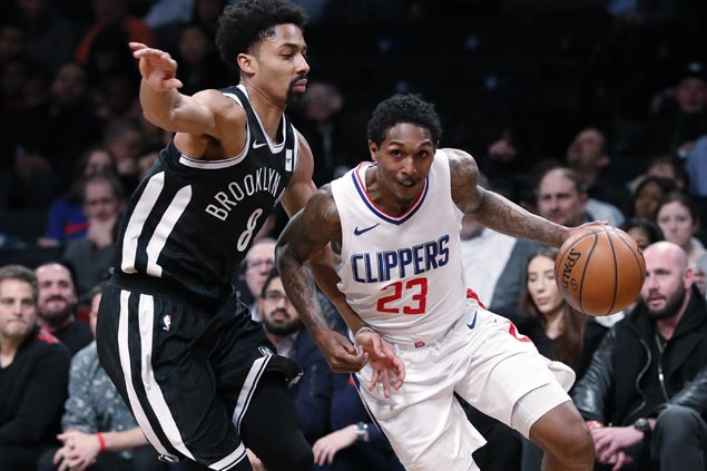 Clippers get back on track with breezy win over lowly Nets