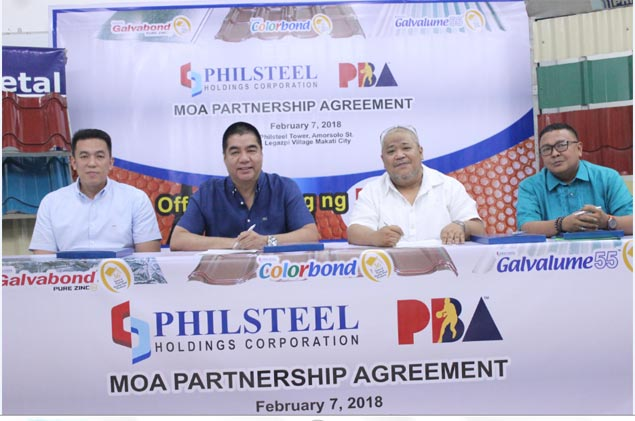 Philsteel rekindles partnership with PBA by backing Player of Conferece award