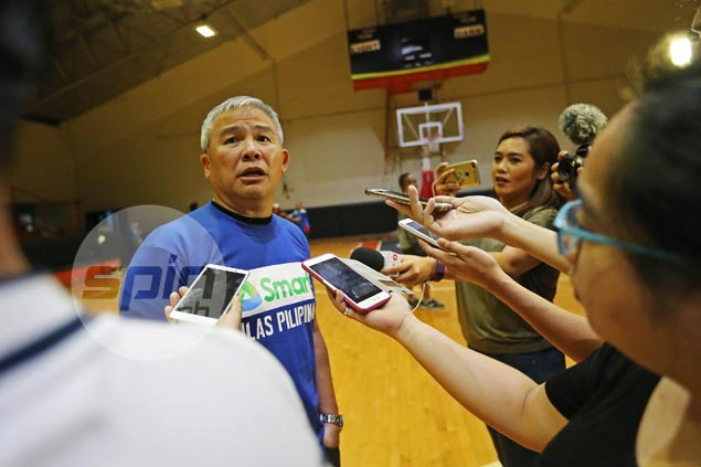 Reyes on Abueva claiming he's back in Gilas hunt: 'Baka nananaginip lang s'ya'