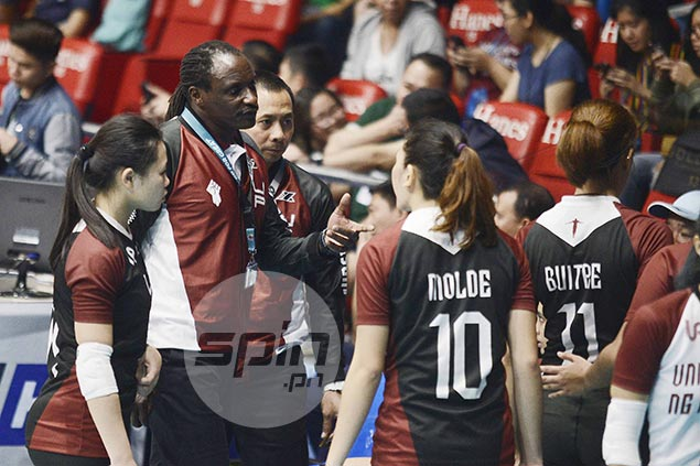 UP coach Okumu turns focus on improving defense for 'must-win' match vs Adamson