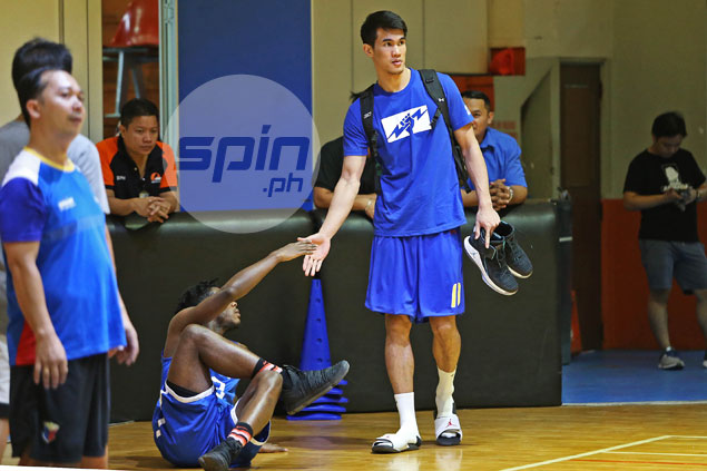 Troy Rosario back at Gilas practice but remains uncertain for Oz, Japan matches