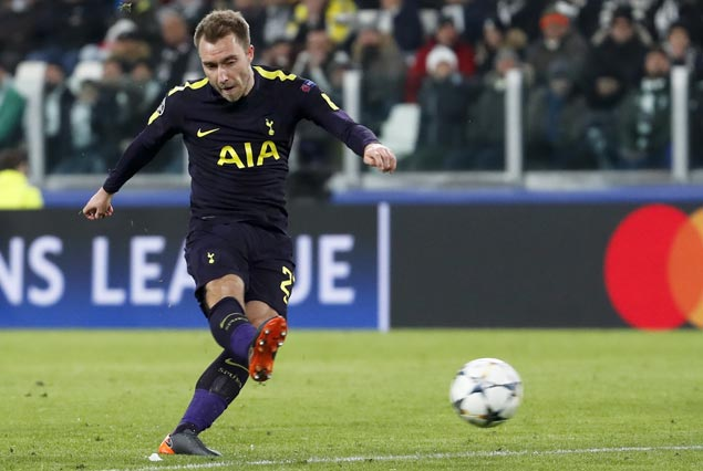 Harry Kane, Christian Eriksen score as Spurs pull off brilliant recovery to draw with Juve