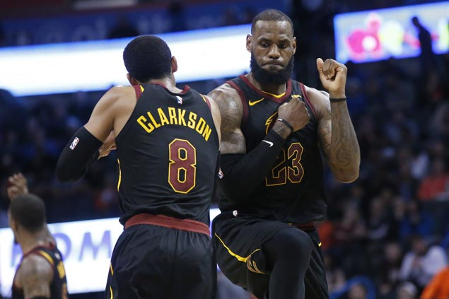 LeBron heaps rare praise on Cavs GM for bringing Clarkson and Co. on board