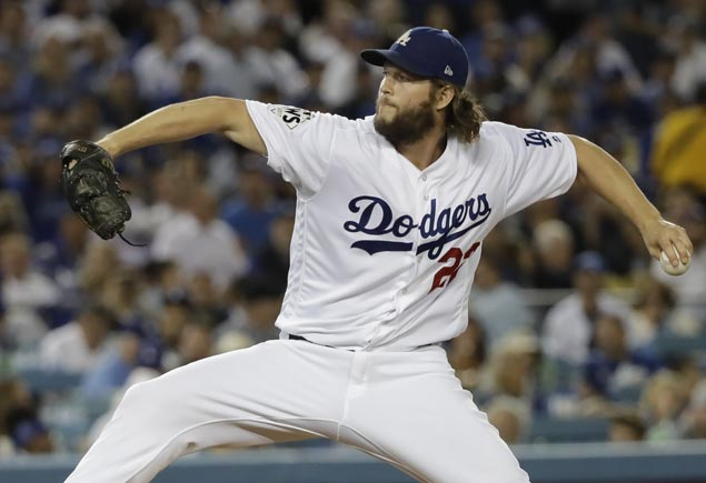 Team record eighth opening-day start for Clayton Kershaw as Dodgers take on Giants
