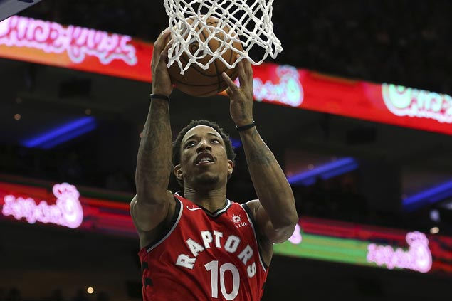 Raptors secure top spot in East before All-Star break with close win over Heat