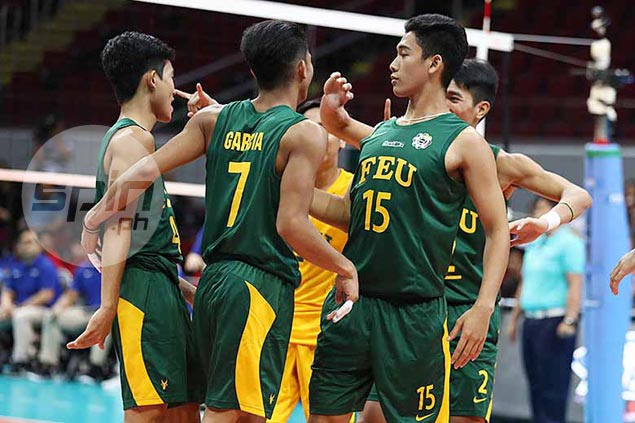 FEU defeats La Salle for third straight win in UAAP volleyball