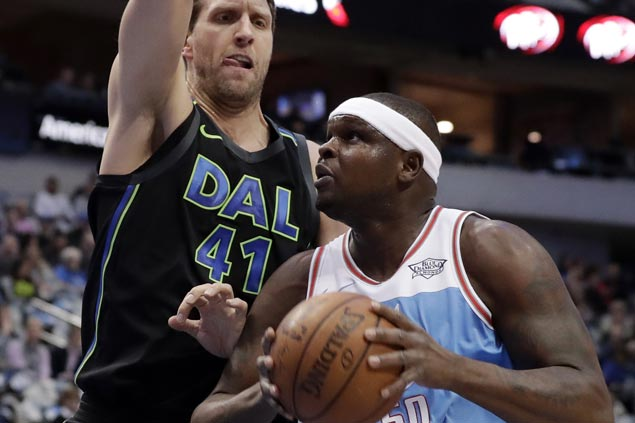 Zach Randolph sparks early charge and Kings hold on to beat Mavericks