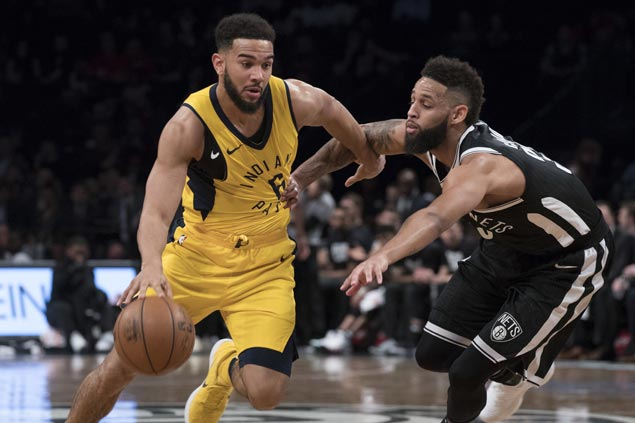 Pacers make it three straight wins, send Nets to seventh straight loss