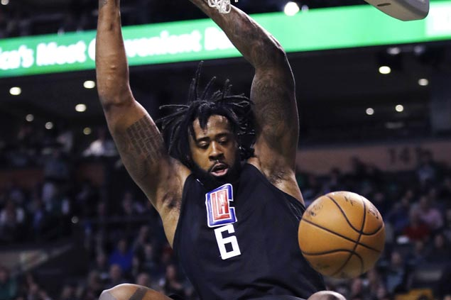 DeAndre Jordan takes charge as Clippers deal Celtics fourth loss in five games