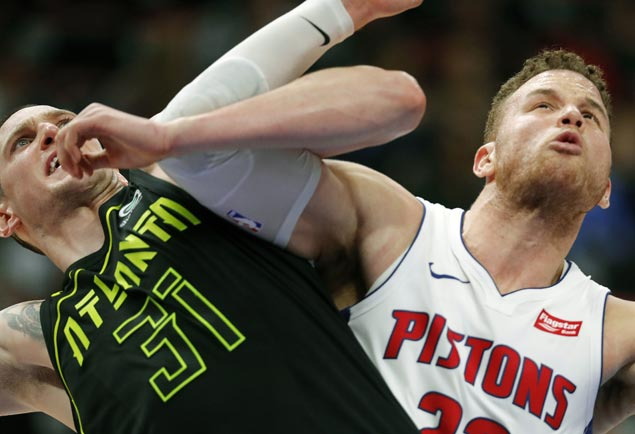 Pistons halt three-game slide with rout of lowly Hawks
