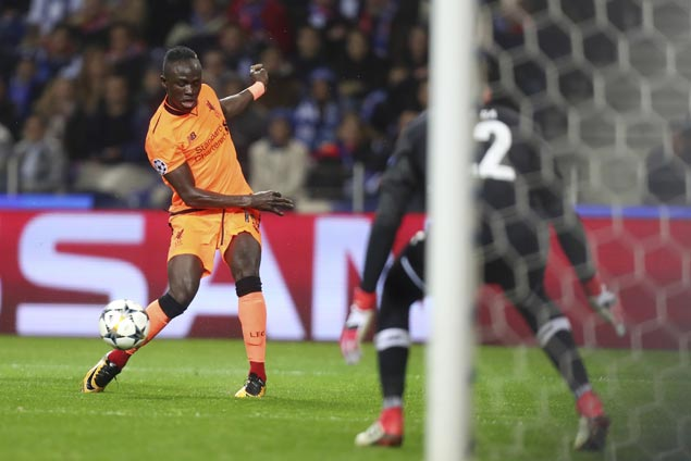 Sadio Mane scores hat trick as Liverpool closes in on quarterfinals with away rout of Porto