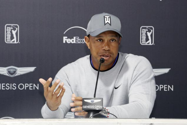 Tiger Woods continues comeback, plays Riviera for the first time in over a decade