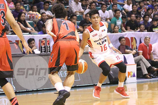 Blackwater 'magic bunot' Renz Palma excited to face off with idol, UE senior Ronald Tubid