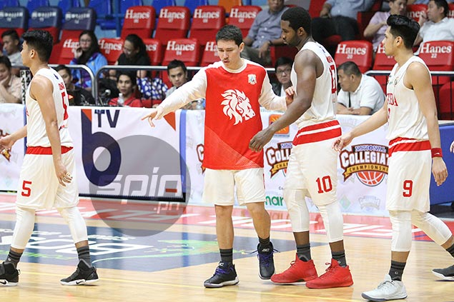 Boyet Fernandez hopes Bolick fit to play as Red Lions brace for vengeful Pirates in PCCL final