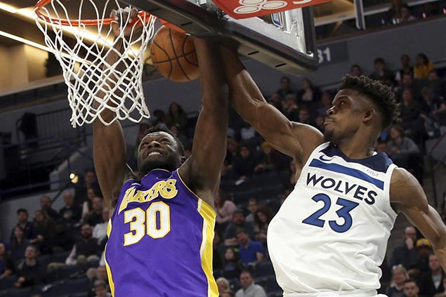 LA coach concedes 'big-time closers' Butler, Gibson spelled difference for Wolves