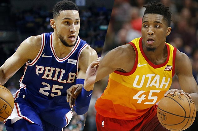 ROY contenders Simmons, Mitchell lead rookie phenoms set for Rising Stars game