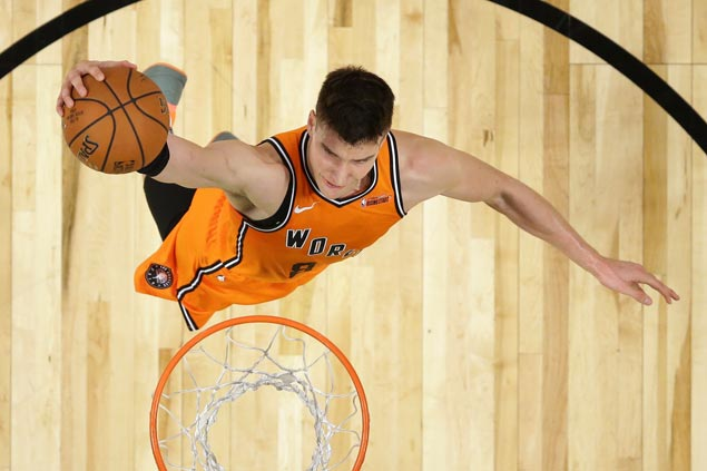 Hield, Bogdanovic star as World makes it four straight wins over US in Rising Stars Challenge