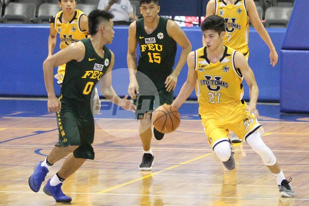 Tiger Cubs fight back from 13 down to beat Baby Tams and advance in UAAP Jrs stepladder