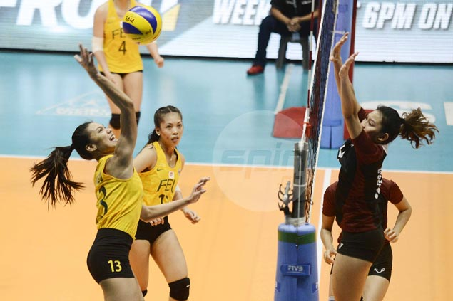 Lady Tamaraws beat Lady Maroons in straight sets to snap two-match slide