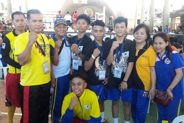 Four Mandaluyong boxers reach Luzon semis of PSC-Pacquiao Amateur Boxing Cup