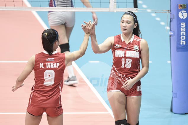 Racraquin sticks to positives in tough loss to Arellano in NCAA finals opener