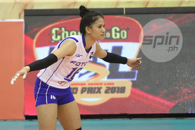 Dindin Santiago makes smashing comeback from knee injury but insists she's far from peak form