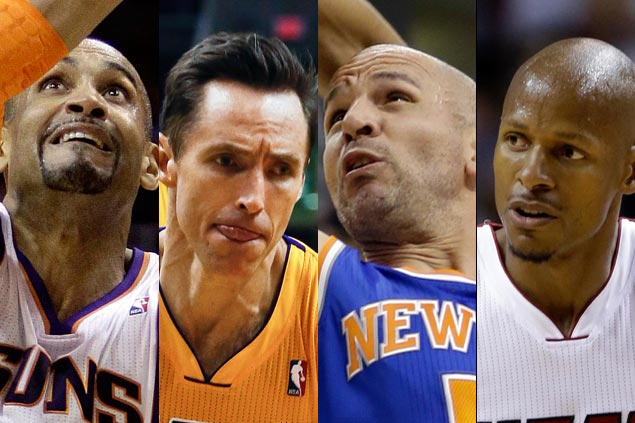 Steve Nash, Jason Kidd head 13 finalists for induction into Basketball Hall of Fame