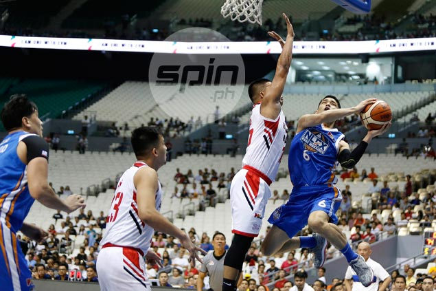 Belo concedes hot-shooting NLEX guards did Elite in: 'Na-Kevin Alas kami'