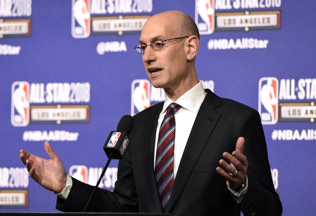Adam Silver hopes NBA lottery tweaks help lessen tanking lure but admits more solutions needed